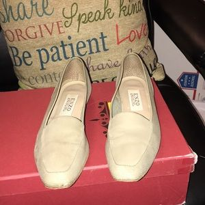 Great suede and leather flats in good condition